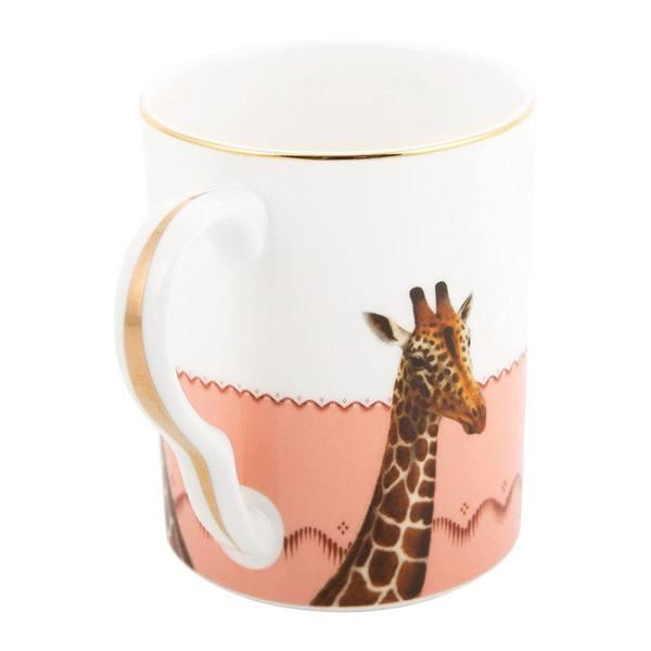 Yvonne Ellen Mug Giraffe Bee 3