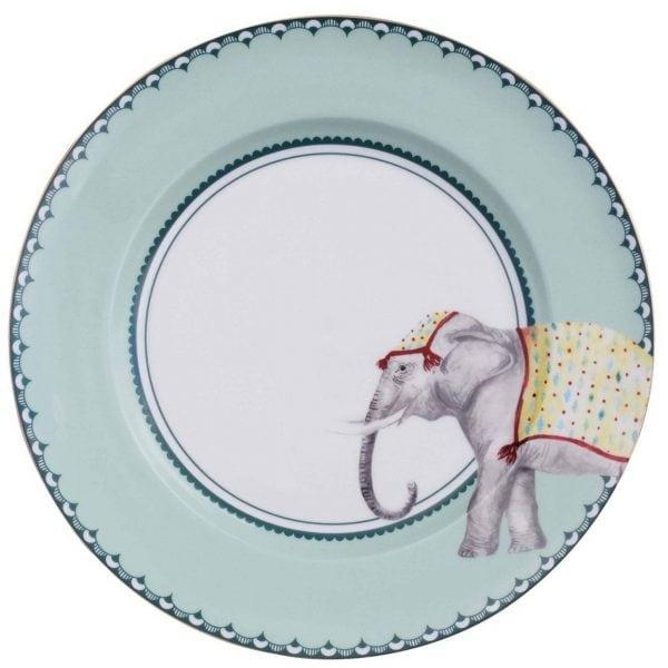 Yvonne Ellen Carnival Animal Diner bord olifant