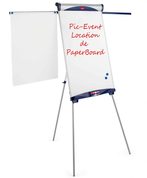 Pic-Event Location Chevalet PaperBoard de conference