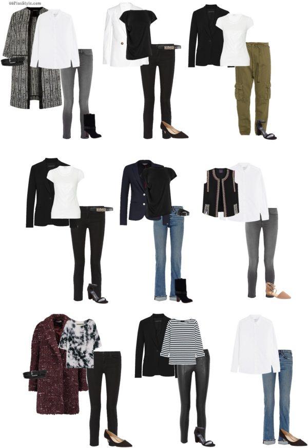 Emmauelle Alt French Vogue style guide dress | 40plusstyle.com