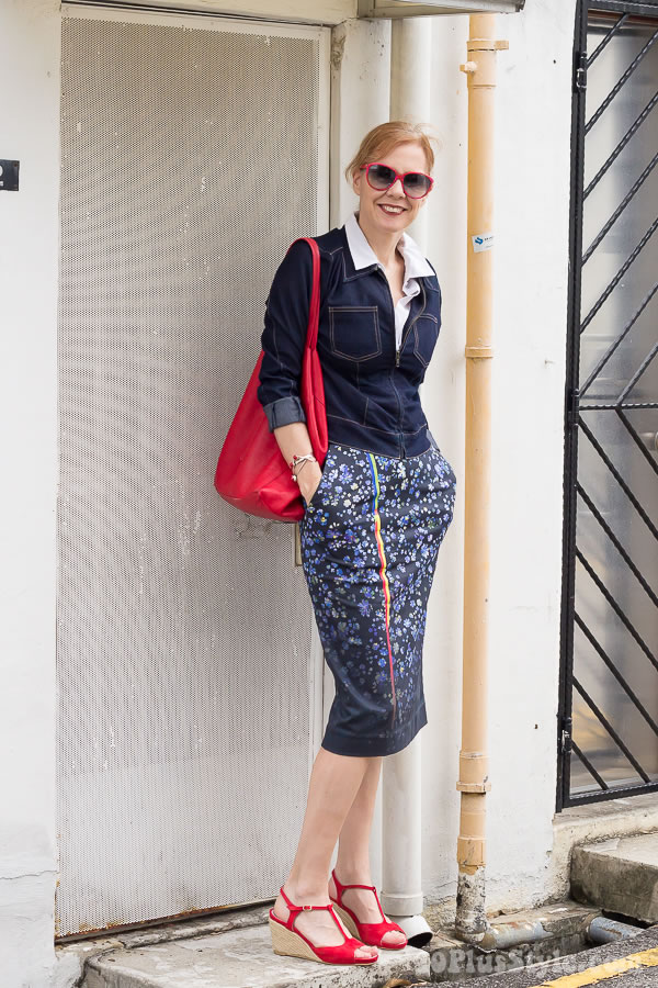 What is the perfect skirt length and skirt type for women over 40? | 40plusstyle.com