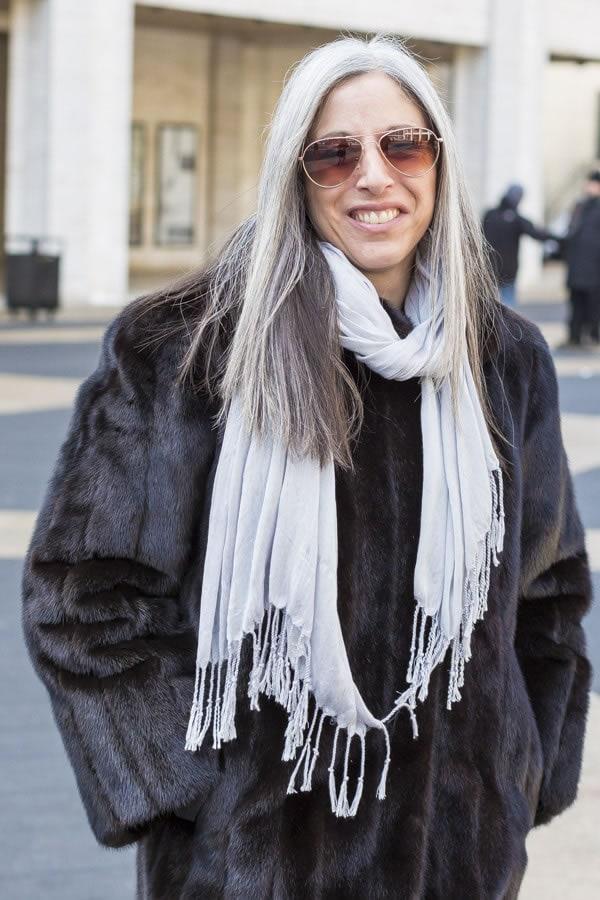 long sleek silver hair   40plusstyle.com