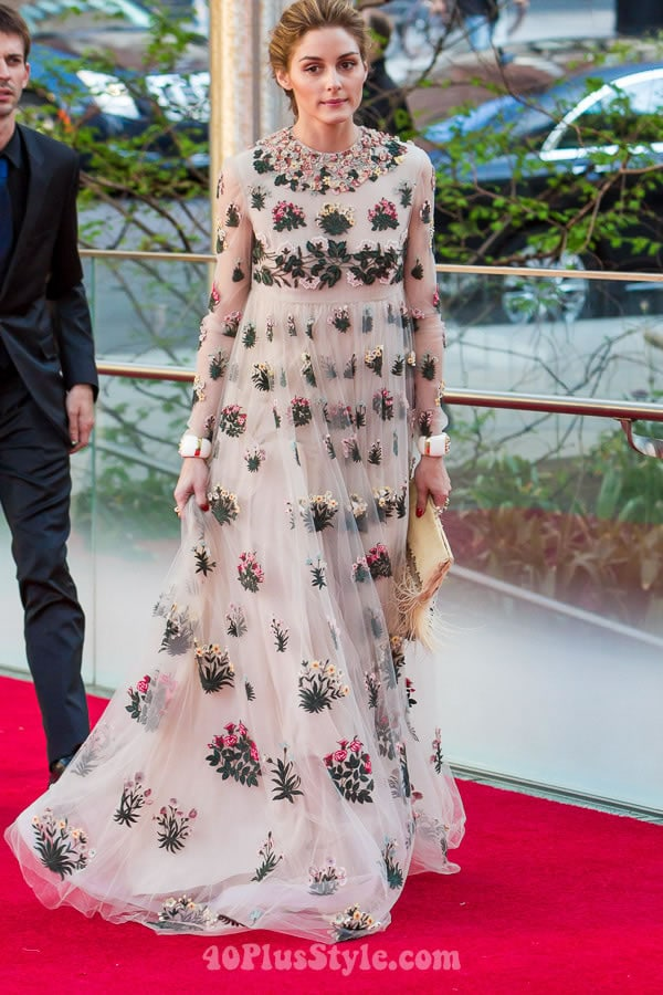 Celebrity style at the New York Ballet Gala - choose your favorite from these 8 looks! - Olivia Palermo   40plusstyle.com