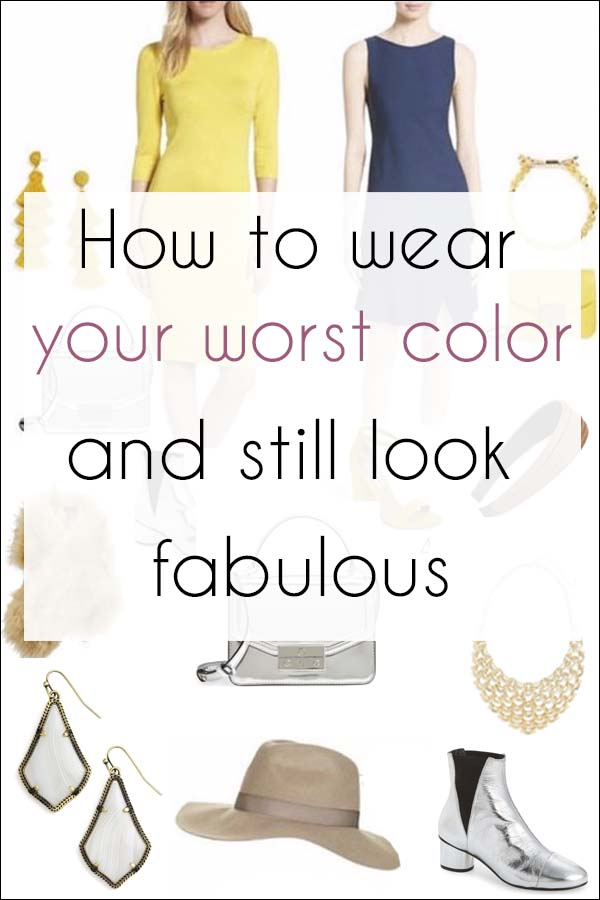 How to wear your worst color and still look fabulous   40plusstyle.com