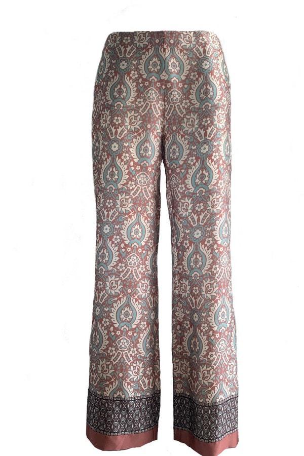 Le Streghe Satinhose im Pyjama Style