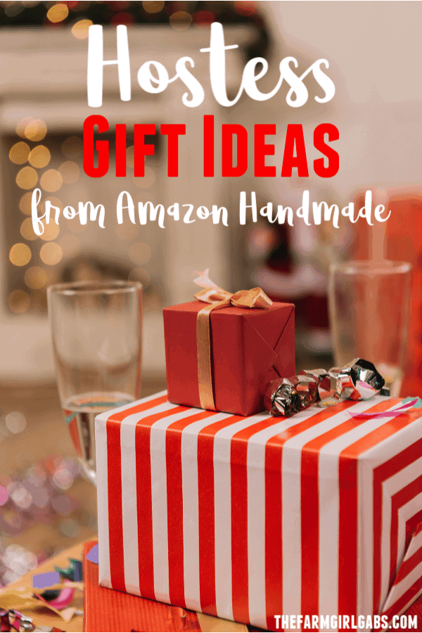 Spread some Christmas cheer when celebrating the holiday season with friends and family with these Hostess Gift Ideas From Amazon Handmade. #AmazonHandmade #ChristmasGifts #Entertaining #GiftIdeas #HolidayGift #ChristmasParty #PartyPlanning #ChristmasDecor