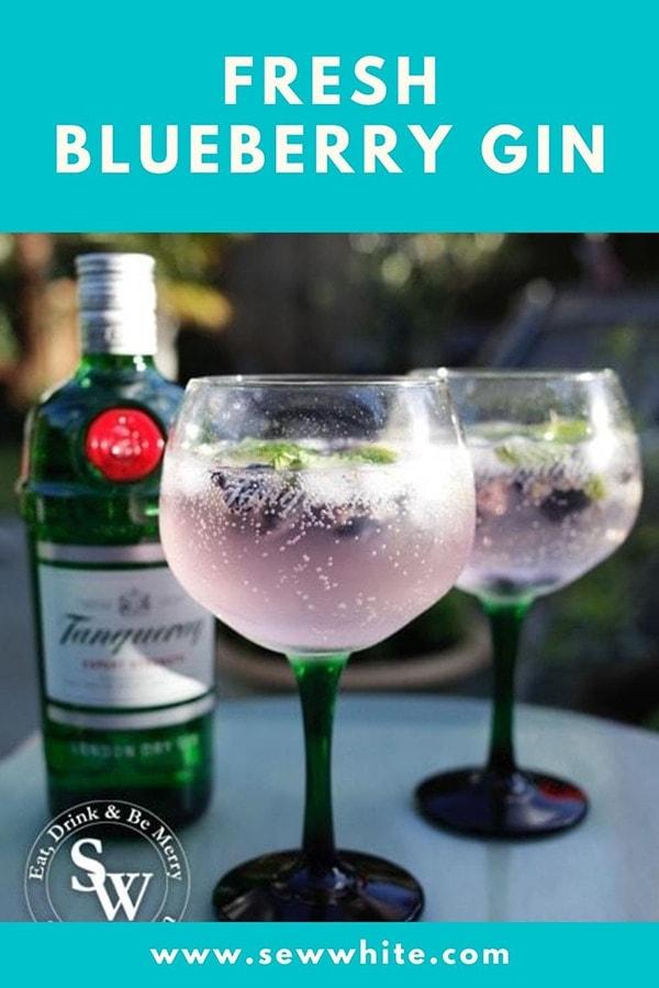 fresh blueberry gin ideas