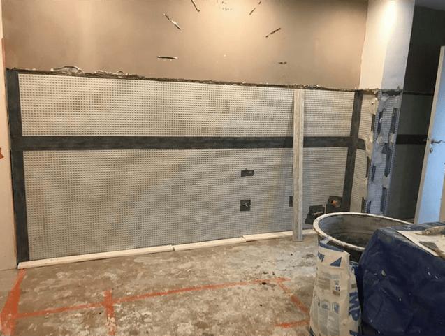 Opstijgend vocht als één van de vochtproblemen in de muren van een huis te Roeselare 4