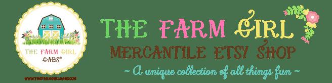 The Farm Girl Mercantile Etsy Shop
