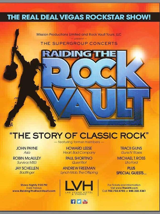 Raiding the Rock Vault, Las Vvegas, NV