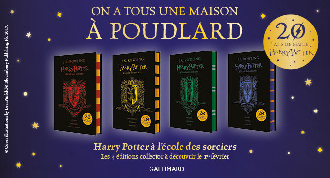 Les Editions 20 Ans De Harry Potter Bientot La Chambre