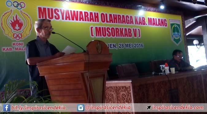 Belum Satu Persen APBD, Anggaran KONI Kabupaten Malang Diharapkan Meningkat