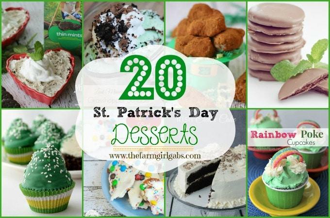 20 Fun St. Patrick's Day Desserts