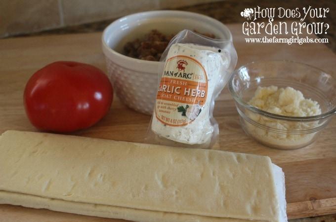 Goat Cheese Tart Ingredients