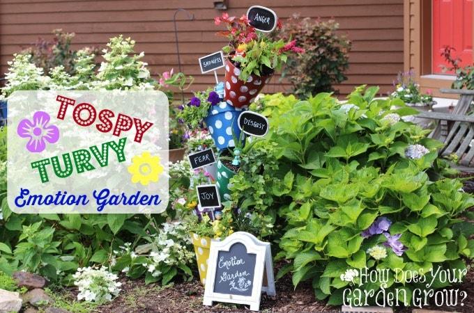 Topsy Turvy Emotion Garden