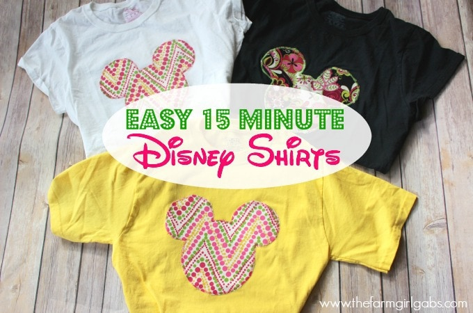 Create Your Own Disney Shirt