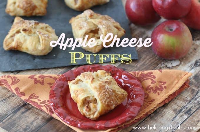 Apple Cheese Puffs