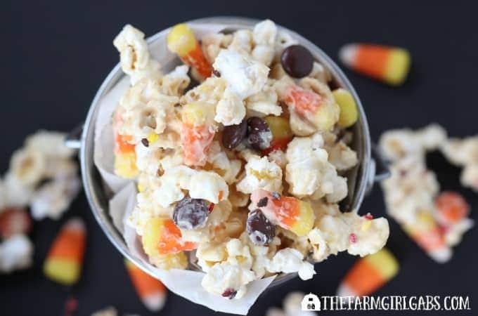 Candy Corn Popcorn - Feature 2
