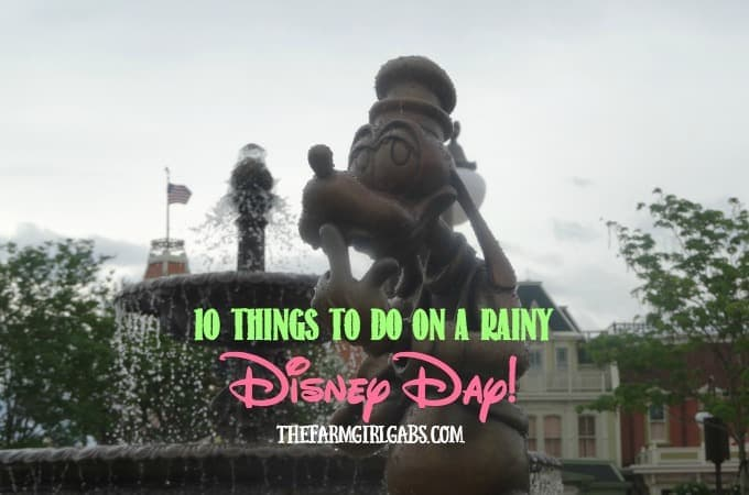 10 Things To Do On A Rainy Disney Day