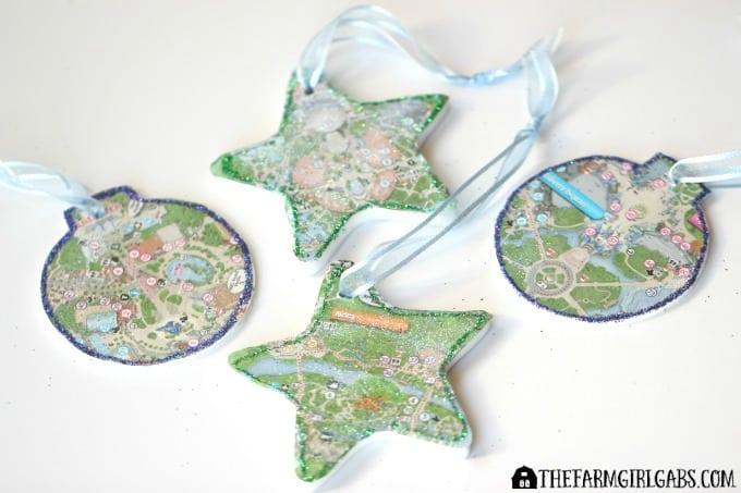 Disney Guidemap Ornaments - Feature 1