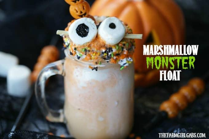 Marshmallow Monster Float