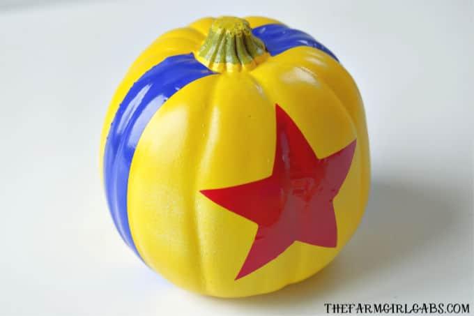 DIY Toy Story Pumpkin