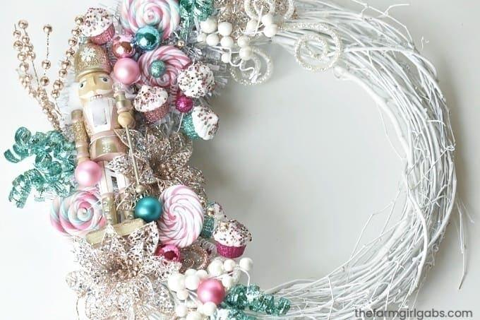 Make Your Own Nutcracker Wreath