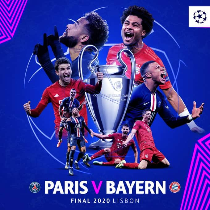 Where To Find Psg Vs Bayern Munich Champions League Final On Us Tv And Streaming World Soccer Talk
