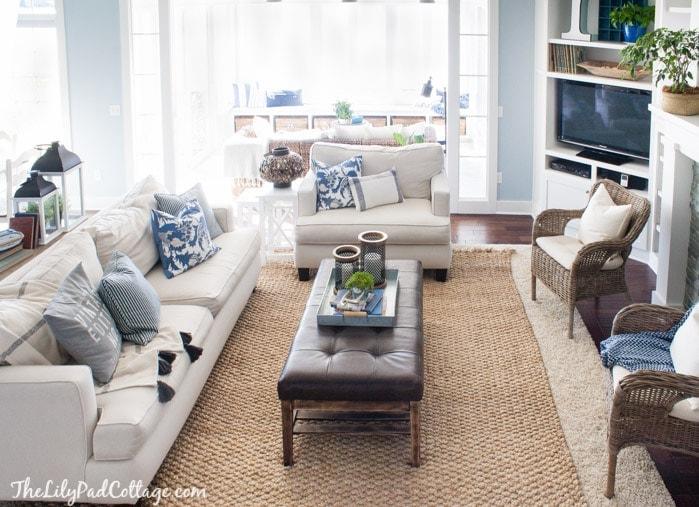 Jute Layered rug