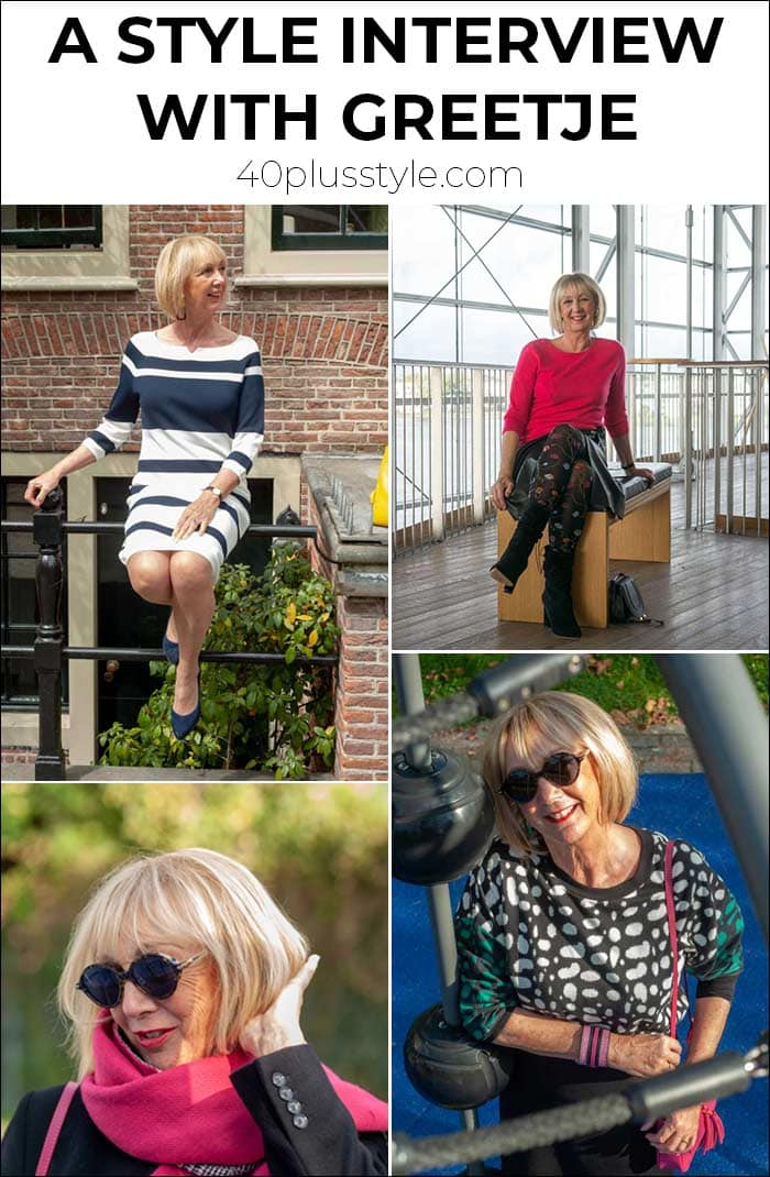 How to have fun with fashion! Style lessons from Greetje   40plusstyle.com
