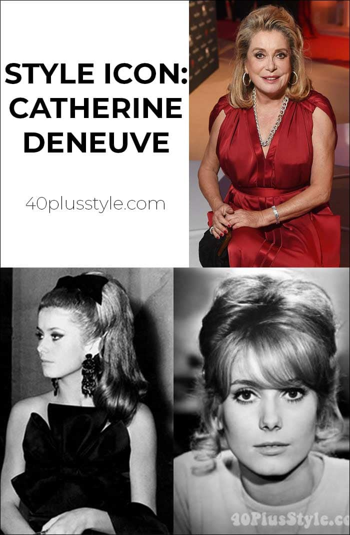 60s style icon Catherine Deneuve continues to inspire   40lusstyle.com