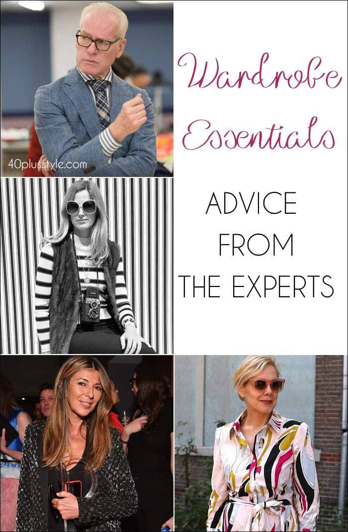 Wardrobe essentials - Advice from the experts   40plusstyle.com