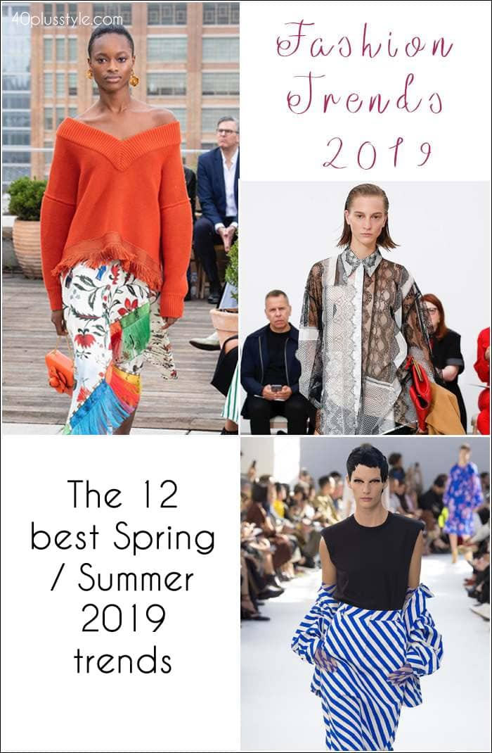 Fashion trends spring 2019: 12 of best Spring trends for women over 40   40plusstyle.com