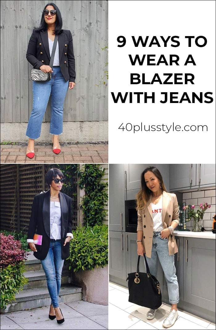 Wear jeans blue what to with blazer and 10+ Navy