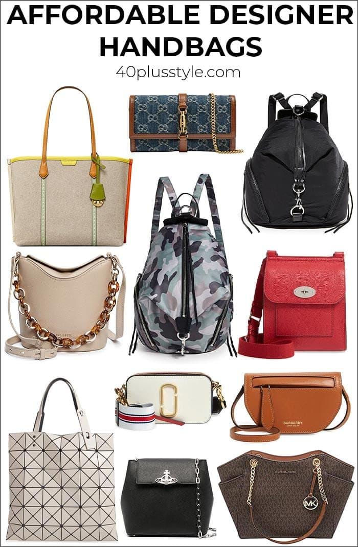 The 10 best designer handbags you can definitely afford | 40plusstyle.com