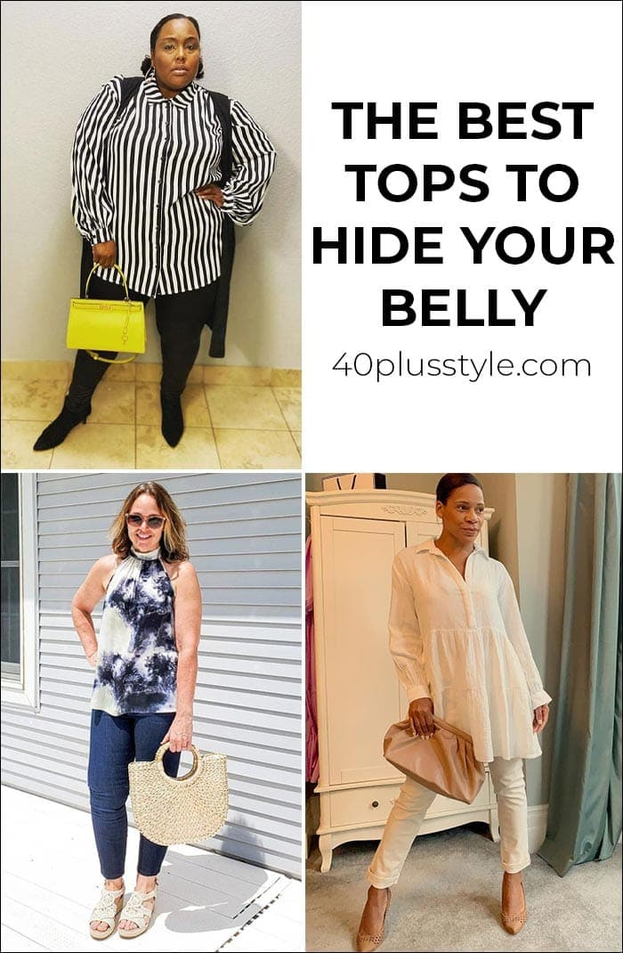 The best tops to hide your tummy   40plusstyle.com