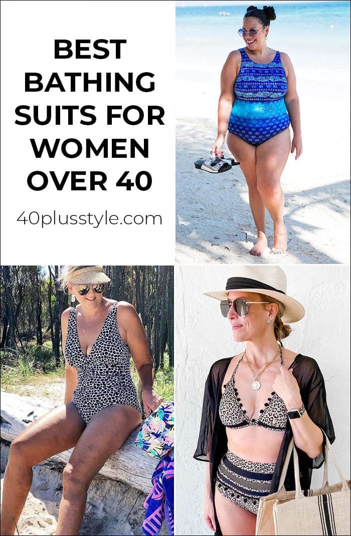 The best bathing suits for women over 40 - swim suits that make you feel fabulous   40plusstyle.com