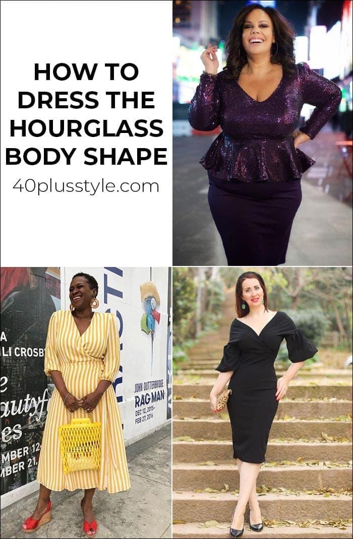 How to dress the hourglass body shape   40plusstyle.com