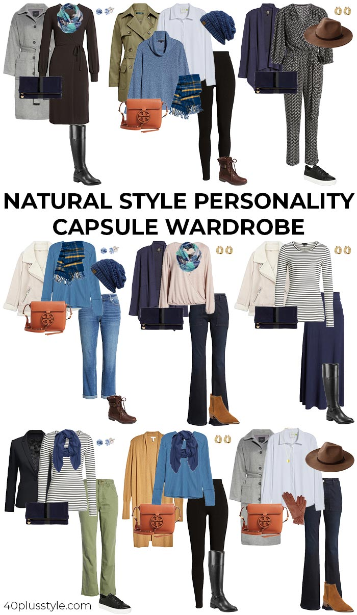 A natural style personality capsule wardrobe   40plusstyle.com