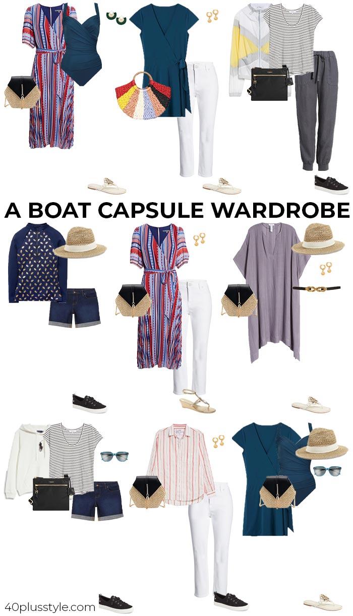 Boat capsule wardrobe   40plusstyle.com