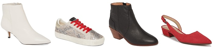 shoes to wear with leather jackets | 40plusstyle.com
