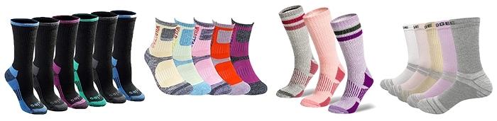 Socks to wear on a hike | 40plusstyle.com