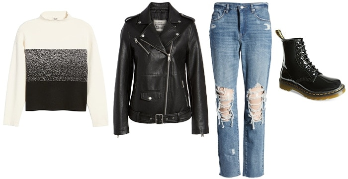 the rock/urban personality outfits   40plusstyle.com