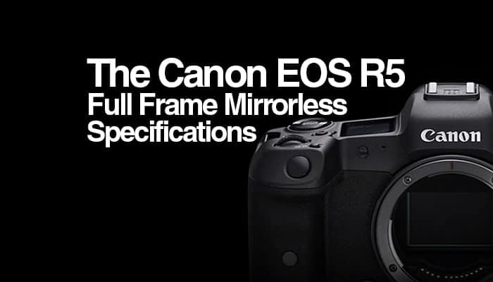 canon eos r5 specs