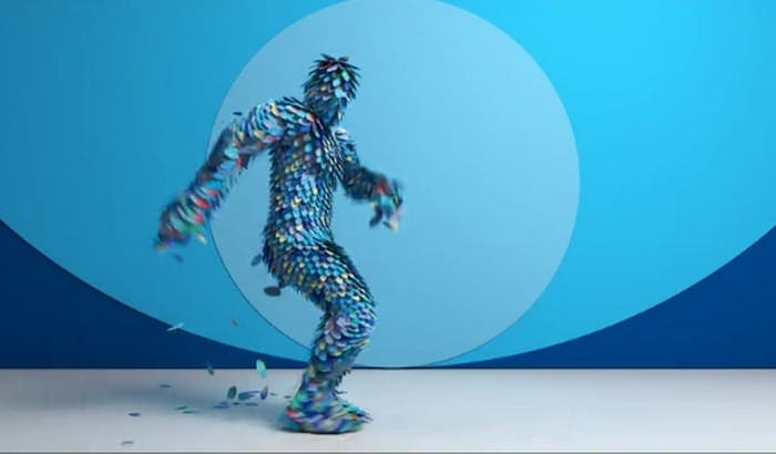 An In-Your-Face Motion Capture Dance Performance Amidst a Flurry (...) - @This is Colossal Artes & contextos Method Studios