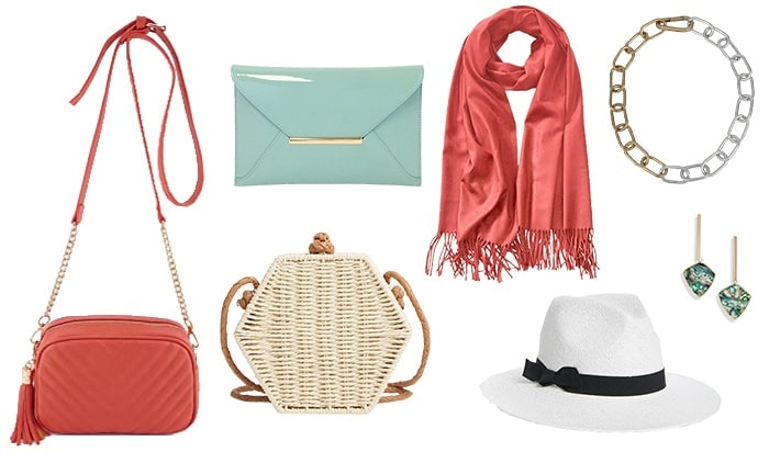 how to hide your belly with the right accessories | 40plusstyle.com