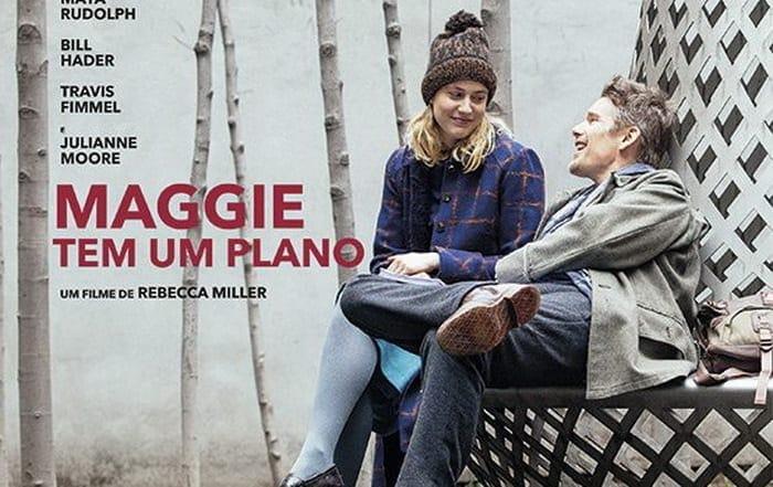 Maggie tem um plano Artes & contextos Maggie tem um plano Cartaz 1