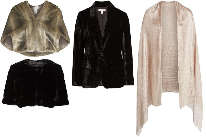 Outerwear for a wedding on winter   40plusstyle.com