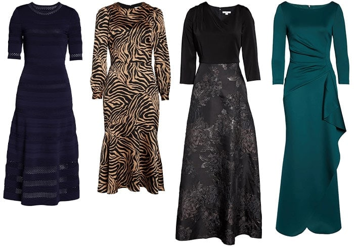 Long and midi dresses   40plusstyle.com