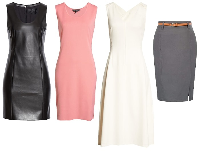 Jeniffer Anniston inspired dresses and skirt | 40plusstyle.com